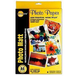 Papier fotograficzny Yellow One A4 190g matowy, 50ark.