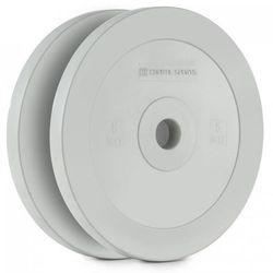 Capital Sports Methoder obciążenie talerz gumowany para 5 kg kolor szary