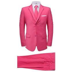 vidaXL 2-częściowy garnitur męski z krawatem różowy rozmiar 48 Darmowa wysyłka i zwroty