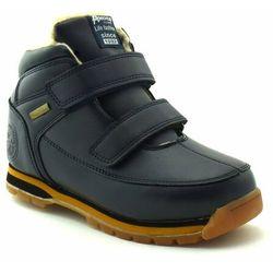 Dziecięce buty ocieplane American Club ES41/19 Navy