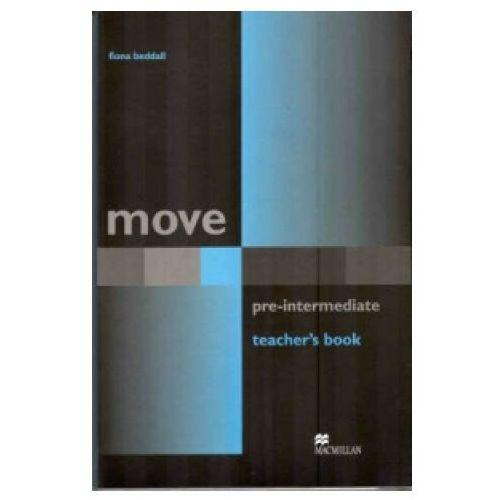 Książki do nauki języka, Move Pre-Intermediate Książka Nauczyciela (opr. miękka)