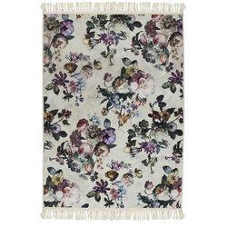 Dywan w kwiaty, dywanik w kwiatki, kilim w kwiaty, dywan do pokoju, dywan do salonu 120 x 180 cm, Essenza