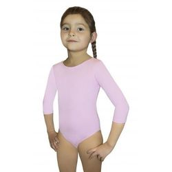 BODYSUIT GIRLS 3/4 SLEEVE LEOTARD body gimnastyczne