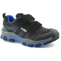 Dziecięce buty sportowe American Club WT1779 - Czarny ||Niebieski
