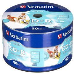 CD-R Verbatim 700MB 50szt.- natychmiastowa wysyłka, ponad 4000 punktów odbioru!