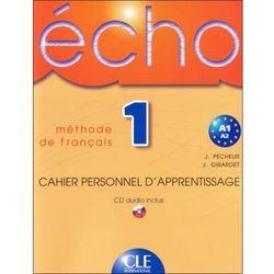 Echo 1 cahier personnel d'apperentissage CLE (opr. miękka)