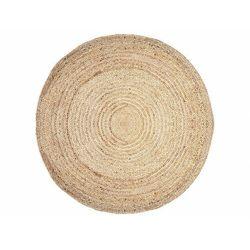 Okrągły dywan JAIPUR - 100% juty - Śred. 150 cm - kolor naturalny