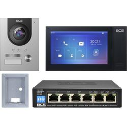 "Wideodomofonu IP BCS-PAN1701S-S + Monitor 7"" BCS-MON7400B-S Podtynkowy"