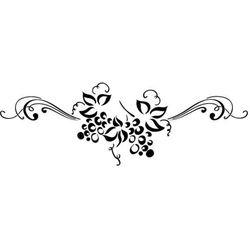 Szablon malarski z tworzywa, wielorazowy, wzór flora 337 - Pod słońcem Toskanii