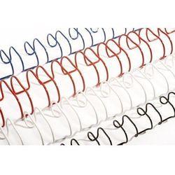 Grzbiety do bindowania drutowe, czarne, 4,8 mm, 100 sztuk, oprawa 2-15 kartek - Super Ceny - Rabaty - Autoryzowana dystrybucja - Szybka dostawa - Hurt