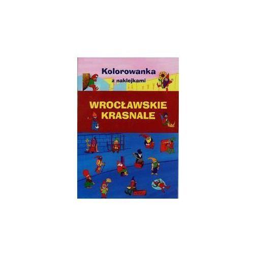 Kolorowanki, Kolorowanka z naklejkami. Wrocławskie Krasnale