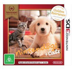 Gra Nintendo Nintendogs + Cats Golden Retriever & new Friends Select 3DS 2DS