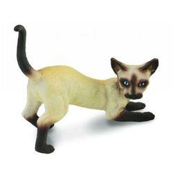 Kot syjamski, przeciągający się - figurka - COLLECTA