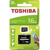 Karty pamięci, Karta pamięci z adapterem MicroSDXC Toshiba 16GB Class 10 THN-M203K0160EA