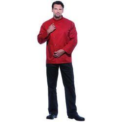 Bluza kucharska męska, rozmiar 46, w kolorze rdzy | KARLOWSKY, Lars