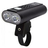 Oświetlenie rowerowe, diodowa przednia latarka rowerowa MacTronic RIFLE ABF0063