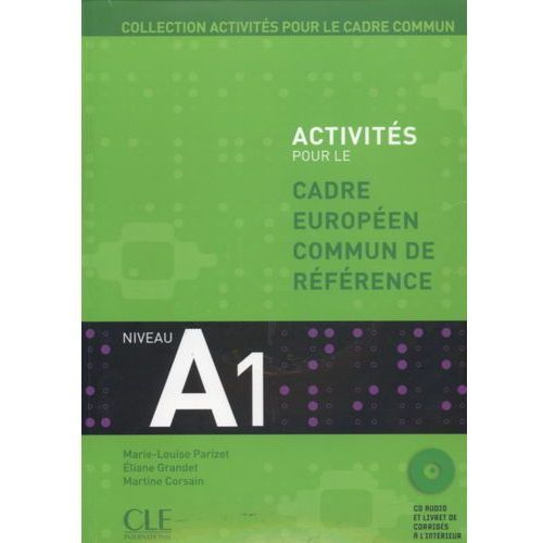 Książki do nauki języka, Activites pour le cadre commun A1 + Cd (opr. miękka)