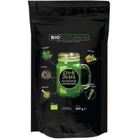 Detox i oczyszanie organizmu, Mieszanka Superfoods Green Detox BIO 400g Biokulturalni