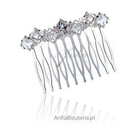 Grzebień do włosów - Biżuteria ślubna