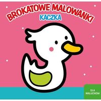 Kolorowanki, Brokatowe malowanki Kaczka - Isabelle Jacqué OD 24,99zł DARMOWA DOSTAWA KIOSK RUCHU