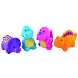 """Zabawki do kąpieli """"Dinozaury"""" - 4 szt."""