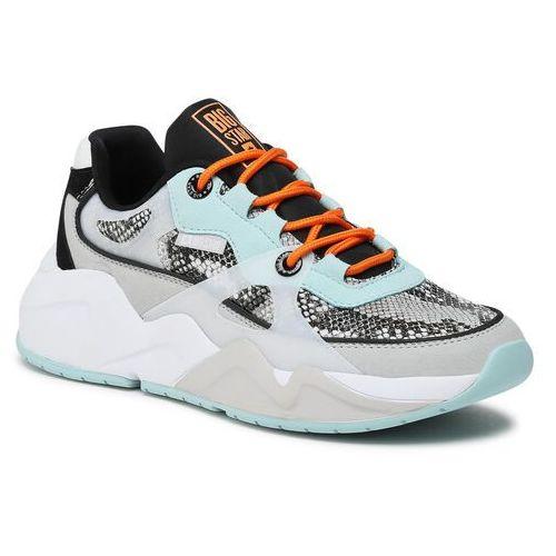 Damskie obuwie sportowe, Sneakersy BIG STAR - HH274324 Grey/Green