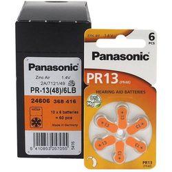 120 x baterie do aparatów słuchowych Panasonic 13 / PR13 / PR48