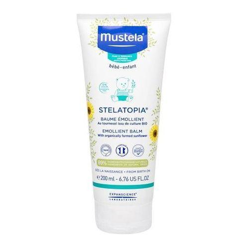 Pozostałe kosmetyki dla dzieci, Mustela Bébé Stelatopia® Emollient Balm balsam do ciała 200 ml dla dzieci