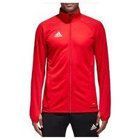Odzież do sportów drużynowych, Bluza sportowa adidas Tiro 17 Training Jacket czerwona BQ2710