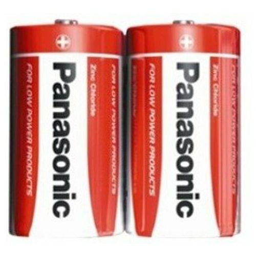Baterie, Bateria cynkowo-węglowa Panasonic R20 D - taca 2 sztuki