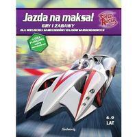 Książki dla dzieci, Jazda na maksa Gry i zabawy (opr. broszurowa)