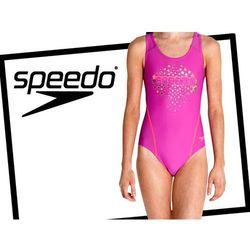 Dziewczęcy strój kąpielowy Speedo Logo