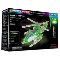 4 in 1 Combat Copter - Laser Pegs
