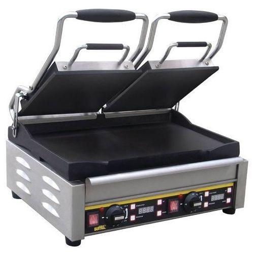 Grille gastronomiczne, Grill kontaktowy żeliwny podwójny gładki | 2900W