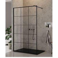 Ścianki prysznicowe, Ścianka 120 cm EXK-0105 New Modus Black New Trendy UZYSKAJ RABAT NA KABINĘ W SKLEPIE