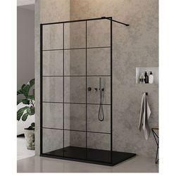 Ścianka 120 cm EXK-0105 New Modus Black New Trendy UZYSKAJ RABAT NA KABINĘ W SKLEPIE
