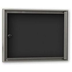 Gablota do zastosowania wewnątrz budynków, głęb. zewn. 27 mm, do DIN A3, ścianka