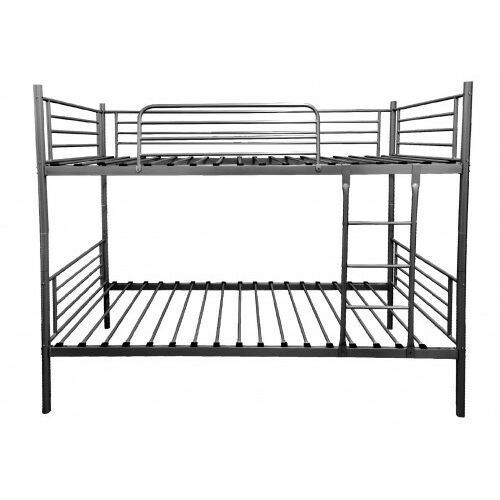 Łóżka, ŁÓŻKO METALOWE PIĘTROWE 90x200 - HADSON - BIAŁE