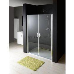 ONE drzwi prysznicowe do wnęki 110x190cm szkło czyste GO2811