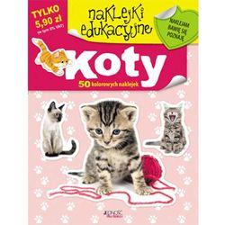 Naklejki koty 60 kolorowych naklejek/Jedność