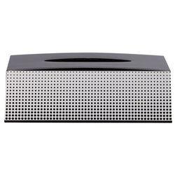 Sealskin Pudełko na chusteczki Speckles, czarne, 361890819 Darmowa wysyłka i zwroty