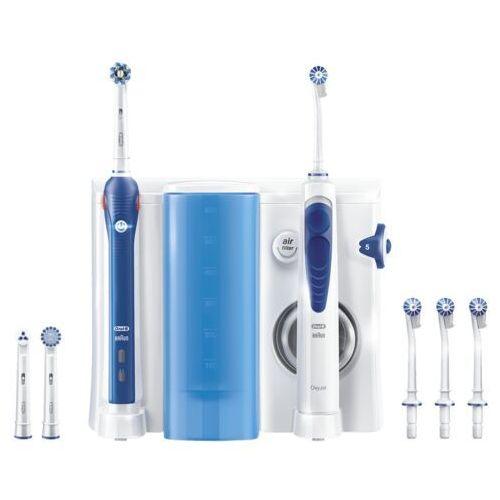 Irygatory do zębów, Szczoteczka rotacyjna ORAL-B Pro 2000 + Irygator Oxy Jet OC20 Testuj przez 100 dni! DARMOWY TRANSPORT