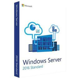 Windows Server 2016 Standard (2 cores) 32/64 bit