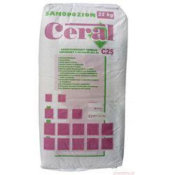 Samopoziomujący podkład cementowy 25kg CERAL
