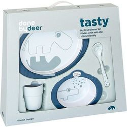 Contour Zestaw Obiadowy Blue Done by Deer