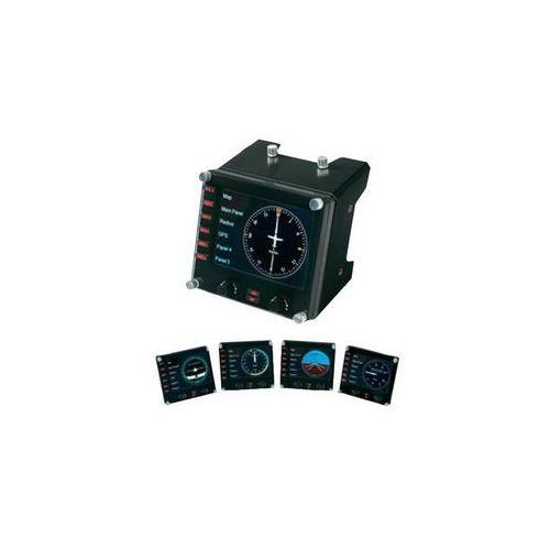 Pozostałe kontrolery do gier, Logitech G Saitek Pro Flight Instrument Panel USB (945-000008) Darmowy odbiór w 20 miastach!