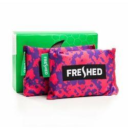 FRESHED - pochłaniacz wilgoci i zapachów do butów odzieży plecaków różowo-fioletowe moro