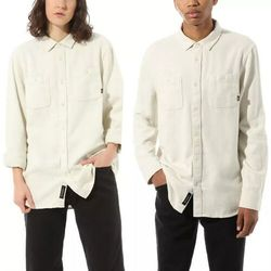 koszula VANS - Kyle Walker Ls Antique White (KS) rozmiar: L