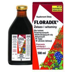 FLORADIX Żelazo i witaminy płyn - 500 ml