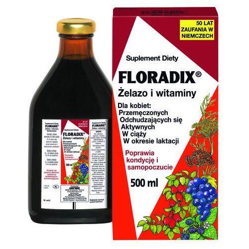 Suplementy ciążowe, FLORADIX Żelazo i witaminy płyn - 500 ml